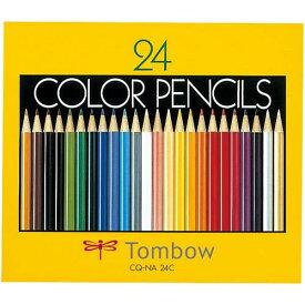 トンボ鉛筆 色鉛筆紙箱入 24色セット
