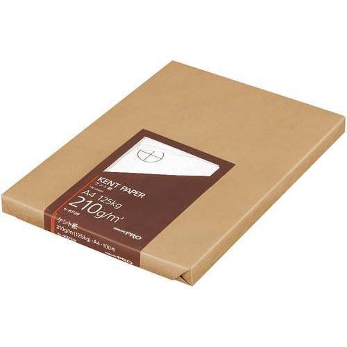 コクヨ 高級ケント紙 210g A4 100枚