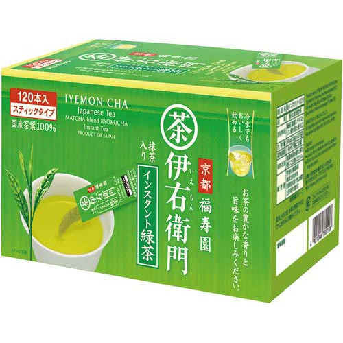宇治の露製茶 伊右衛門 緑茶 インスタントスティック 120本【1two】