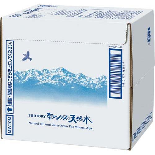 サントリーフーズ サントリー天然水バッグインボックス 10L