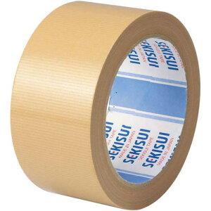 セキスイ 布テープ No.600A 茶 1巻関連ワード【ガムテープ 梱包テープ】