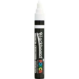 三菱鉛筆 ブラックボードポスカ 中字丸芯 白