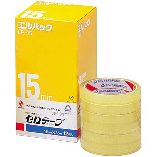 ニチバン セロテープ大巻<エルパック>幅15mm12巻