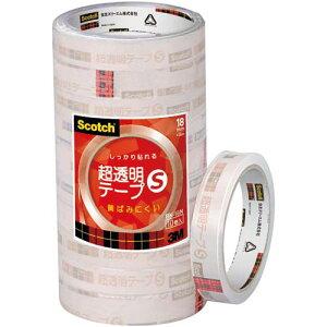 スリーエムジャパン スコッチ 超透明テープS 18mm幅10巻