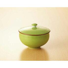 西海陶器 緑巻桔梗絵 蓋付汲出 5客入
