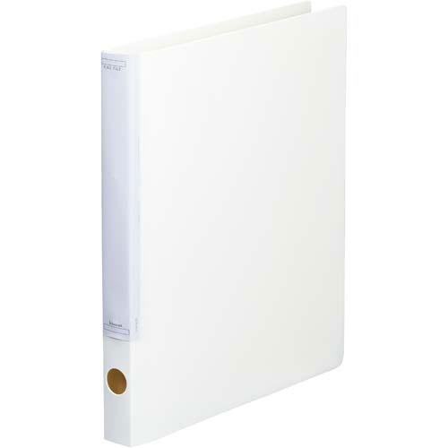 「カウコレ」プレミアム マニュアルリングファイル背幅32mmA4縦白   リングファイル フォルダ ファイル フォルダー バインダー 文具 文房具 収納 整理 書類 収納 書類整理 仕分け ステーショナリー 事務用品 A4