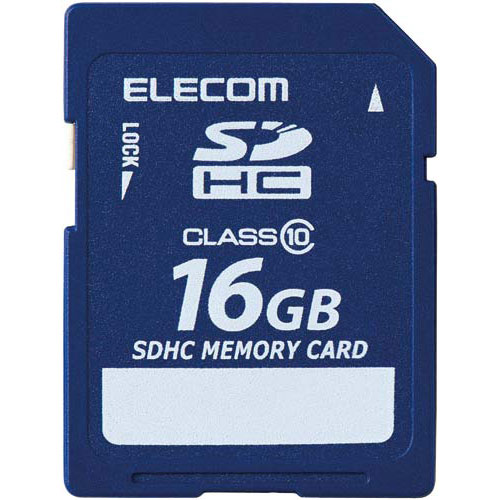 エレコム データ復旧SDHCカード Class10 16GB