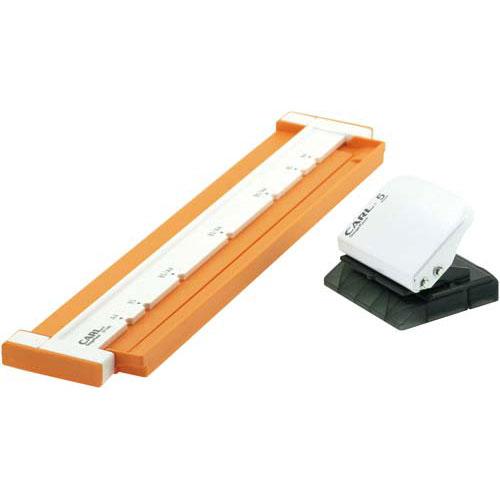 カール事務器 ゲージパンチ・ネオ26・30穴 オレンジ