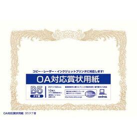 オキナ OA対応 賞状用紙 B5タテ書 10枚入