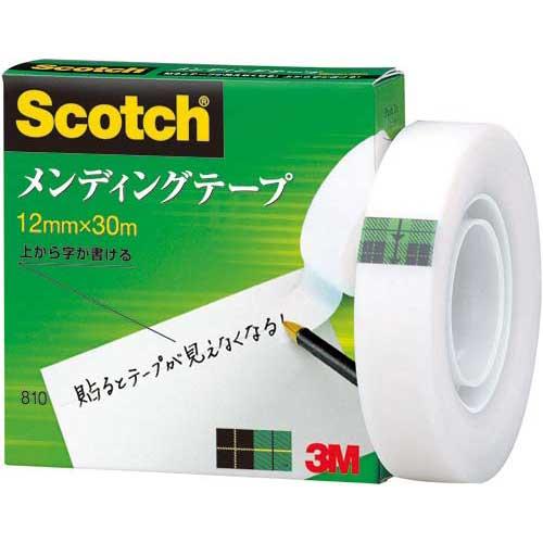 スリーエムジャパン メンディングテープ小巻 12mm×30m