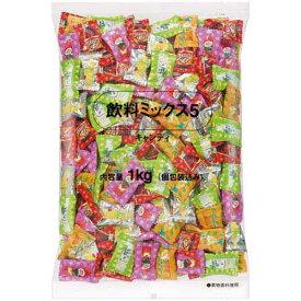 ロッテ 飲料ミックス5 徳用 1kg