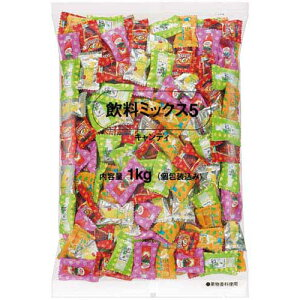 ロッテ 飲料ミックス5 徳用 1kg入×3
