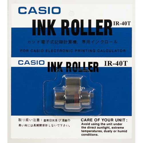 カシオ プリンター電卓用インクローラー IR−40T