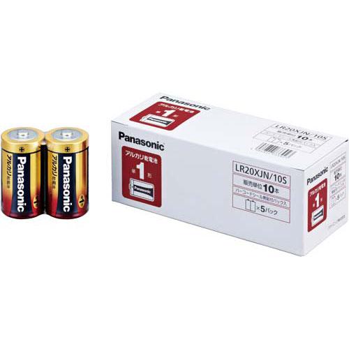 パナソニック 乾電池 アルカリ 単1 10本入