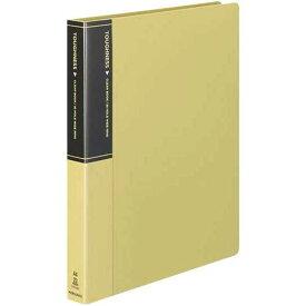 コクヨ クリヤーブックタフネス替紙式 A4 背幅33mm黄