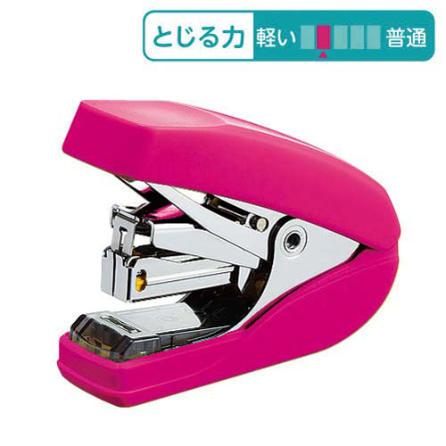 コクヨ パワーラッチキス32枚とじ(フラットタイプ)ピンク