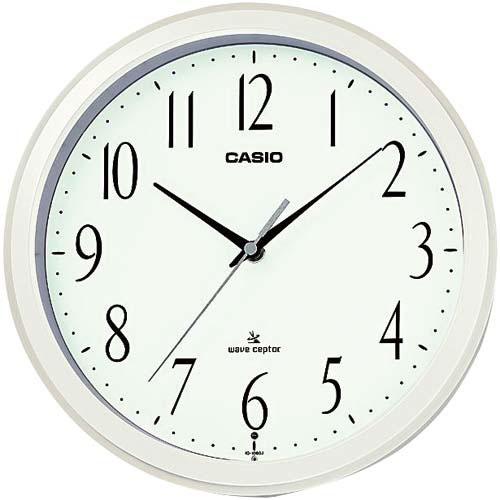 カシオ カシオ 電波掛時計 IQ−1060J−7JF【1eig】