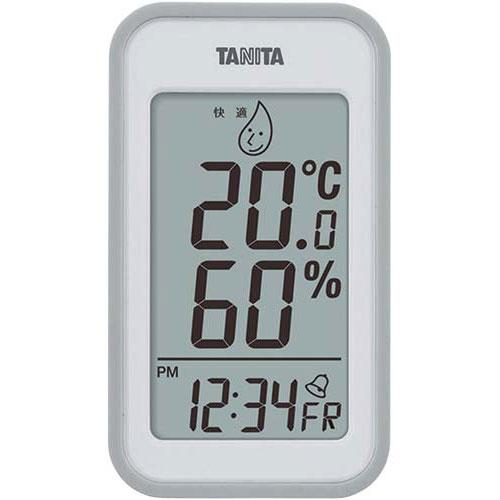 タニタ デジタル温湿度計 大 アラーム付【1eig】