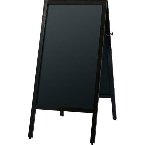 「カウコレ」プレミアム 文字が見やすいA型両面黒板(マグ対応)H1070   ブラックボード ぶらっくぼーど 店舗用品 業務用 カフェ ディスプレイ ディスプレー メニュー メニューボード カウモール