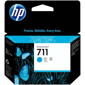 HP 純正インクHP711(CZ130A)シアン29ml