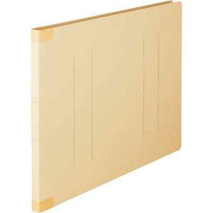 「カウコレ」プレミアム フラットファイル背補強タイプA3横 イエロー20冊