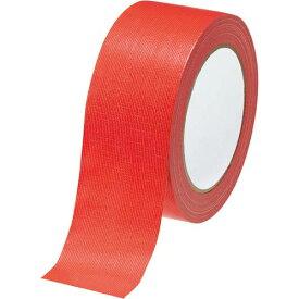 カウネット カラー布テープ 赤 1巻 | 梱包 梱包資材 テープ 引っ越し 引越し ガムテープ 布 梱包テープ 粘着テープ 作業用品 生活雑貨 カウモール