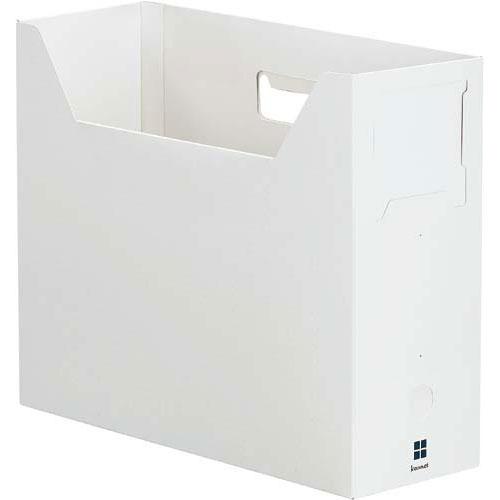 「カウコレ」プレミアム ファイルボックス横100ネイビー | 整理箱 ファイル フォルダ ボックス 文具 文房具 収納 整理 書類 収納 書類整理 仕分け ステーショナリー 事務用品