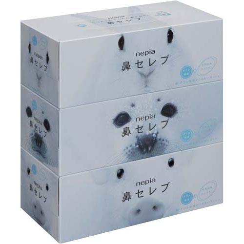 王子ネピア 鼻セレブ 200組(3箱入)関連ワード【ティッシュペーパー ティッシュ ティシュ】