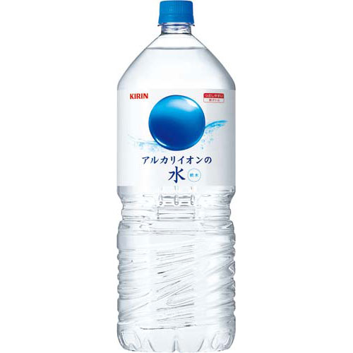 キリンビバレッジ アルカリイオンの水 2L×24本【1two】