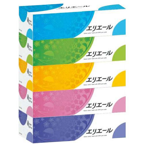 大王製紙 エリエール ティシュー 180組(5箱入)