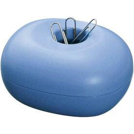 プラス クリップケース ゼムクリップ50g付き ブルー
