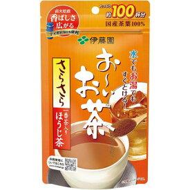 伊藤園 おーいお茶 さらさらほうじ茶 80g