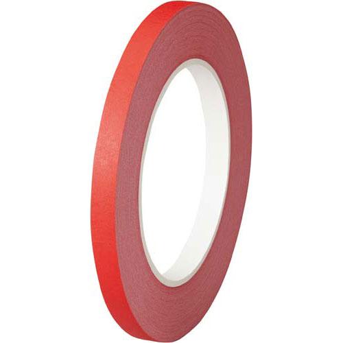 オカモト 紙バッグシーリングテープ 赤 20巻