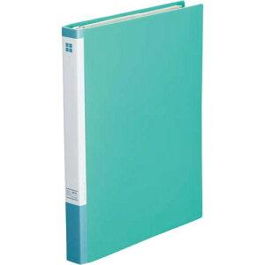 カウネット 名刺ファイル差替式A4縦 30穴300名 緑×5