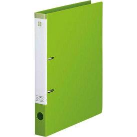 「カウコレ」プレミアム マニュアルDリングファイル背幅35mmA4縦 黄緑 | ファイル フォルダ フォルダー バインダー 文具 文房具 収納 整理 書類 収納 書類整理 仕分け ステーショナリー 事務用品 A4