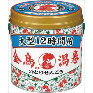 金鳥 金鳥の渦巻 大型 12時間用 40巻×3缶