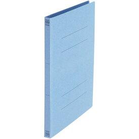 プラス フラットファイル A4縦 ロイヤルブルー 10冊
