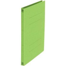 プラス フラットファイル A4縦 リーフグリーン 10冊