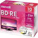 日立マクセル BD−RE録画用 25GB 2倍速 10枚P