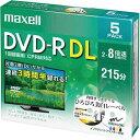 日立マクセル DVD−R録画用(2層) 8倍速 IJ対応 5枚P