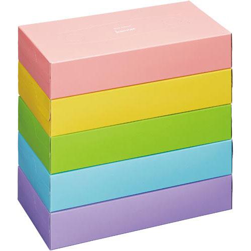 カウネット ボックスティシュー 150組×60箱【1ten】
