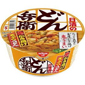 日清食品 日清のどん兵衛 かき揚げ天ぷらうどん全国版12個入