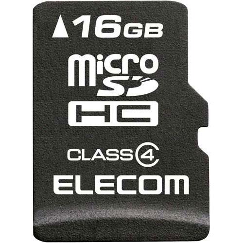 エレコム microSDHCカード/データ復旧付/16GB