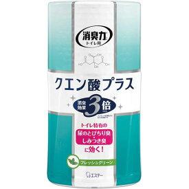 エステー トイレの消臭力クエン酸プラスフレッシュグリーン×4