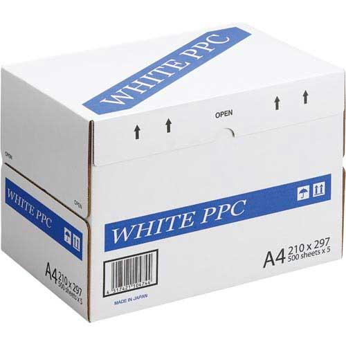 コクヨ WHITE PPC A4 1箱(500枚×5冊)関連ワード【コピー用紙 印刷用紙 プリンター用紙】