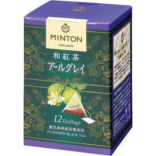 共栄製茶 ミントン 和紅茶 アールグレイ 12P