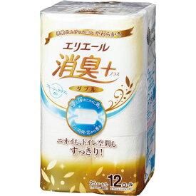 大王製紙 エリエール消臭+トイレット ダブル25m12個×6
