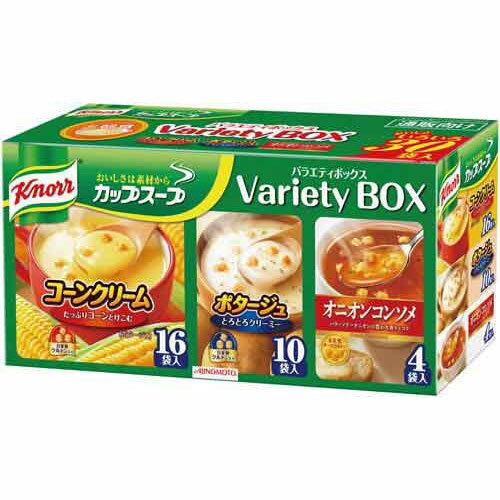 味の素 クノールカップスープ バラエティボックス 30食入【1six】