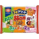 亀田製菓 亀田の柿の種3種アソート 9袋入