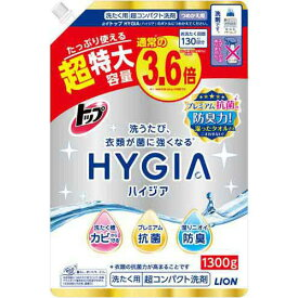 ライオン トップ HYGIA 詰替 1300g×6